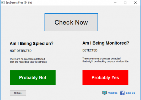 SpyDetect Free screenshot