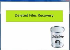 Deleted Files Recovery screenshot