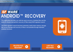 SFWare for Android™ Data Recovery screenshot