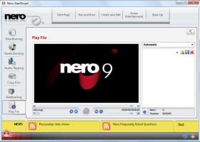 Nero 9 Free screenshot