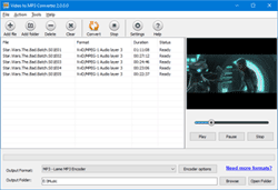 Free Video to MP3 Converter Pro screenshot