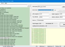 Universal Maps Downloader for Windows 7 - Download maps from Google