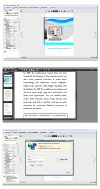PDF to Flash Converter Pro screenshot