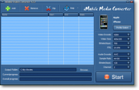iMobile Media Converter screenshot
