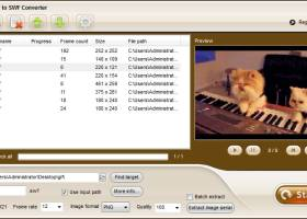 iPixSoft GIF to SWF Converter screenshot