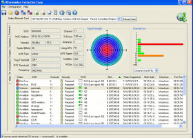 PassMark WirelessMon screenshot