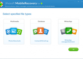 Jihosoft Android Data Recovery screenshot