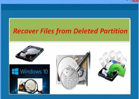 Recover Files from Deleted Partition screenshot
