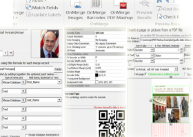 OnMerge Images+Barcodes screenshot