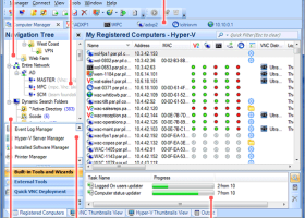 SmartCode VNC Manager Enterprise Edition screenshot