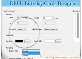 Birth Day Cards Designing Software screenshot
