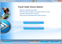 Flash Slideshow Maker Free screenshot
