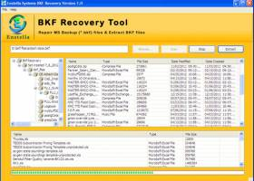 Backup Recovery Tool screenshot