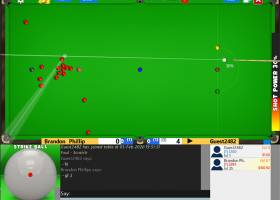 Flash Snooker Game screenshot