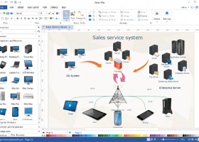 Network Diagram Maker screenshot