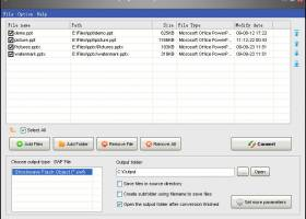 Okdo PowerPoint to Swf Converter screenshot