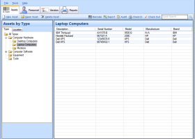 Asset Manager Standard Edition screenshot