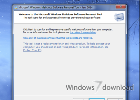 Windows Malicious Software Removal Tool - 64 bit screenshot