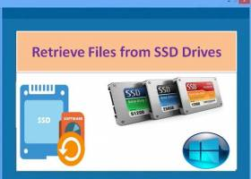 Retrive Files from SSD Drives screenshot