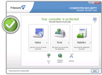 F-Secure Internet Security screenshot