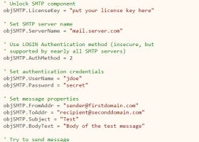 MailBee SMTP screenshot
