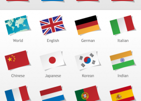 Language Flags screenshot