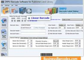 Publishers Barcodes Software screenshot