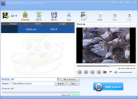 Lionsea VOB To AVI Converter Ultimate screenshot