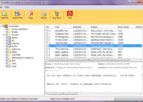 NSF to PST Converter screenshot