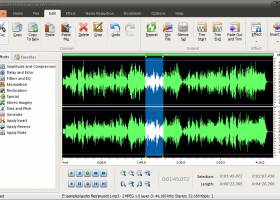 Audio Record Edit Convert Free screenshot