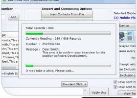 Bulk SMS USB Modem screenshot