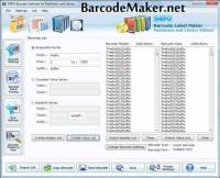 Library Barcode Maker Software screenshot