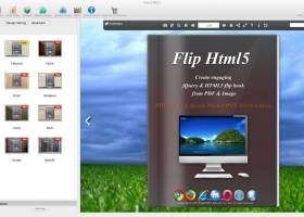 Flip Html5 for MAC screenshot