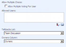 Voting Field screenshot