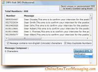 Online Text Messaging screenshot