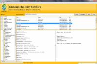 MS Exchange EDB Recovery screenshot