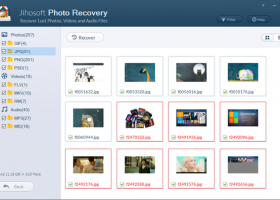 Jihosoft Photo Recovery screenshot