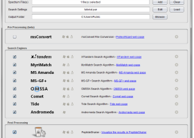 SearchGUI screenshot