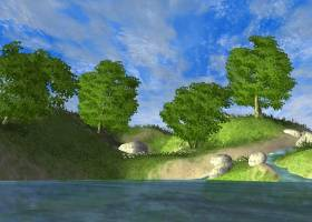 Beautiful Forest Lake 3D Screen Saver screenshot