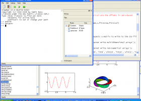 FreeMat for Windows screenshot
