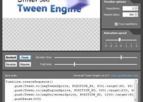 Universal Tween Engine screenshot