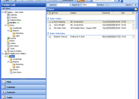 GFI MailArchiver for Exchange screenshot