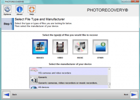 PHOTORECOVERY Standard 2019 for Windows screenshot