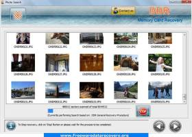 Data Recovery Software for Memory Card screenshot