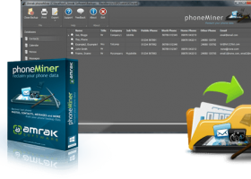 phoneMiner screenshot