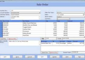 Personal Accounting Software screenshot
