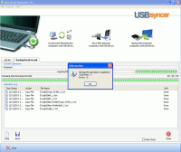 USBsyncer screenshot