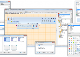 GUI Design Studio Professional screenshot