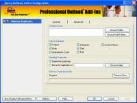 Duplicate Journals Eliminator for Outlook 20007, 2010 screenshot