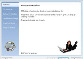EZ Backup Trillian Pro screenshot
